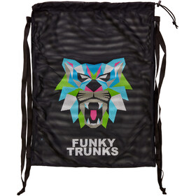 Funky Trunks Mesh Gear Bag, predator geo